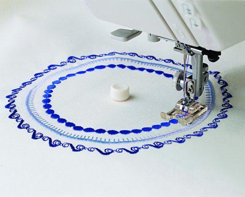 Point Pivot pour Couture Circulaire